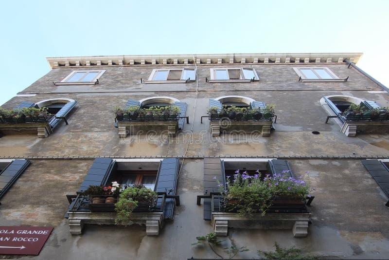 zamieszkany dom w Wenecja fotografia royalty free