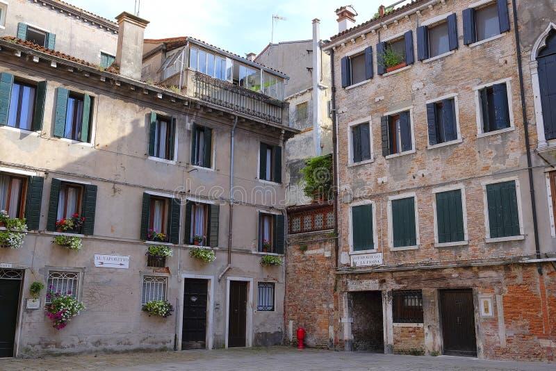 zamieszkany dom w Wenecja obrazy royalty free
