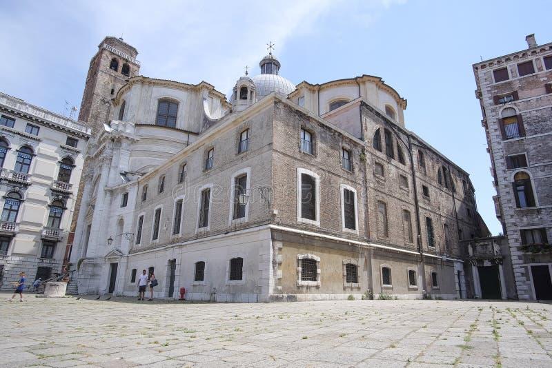 zamieszkany dom w Wenecja zdjęcie royalty free