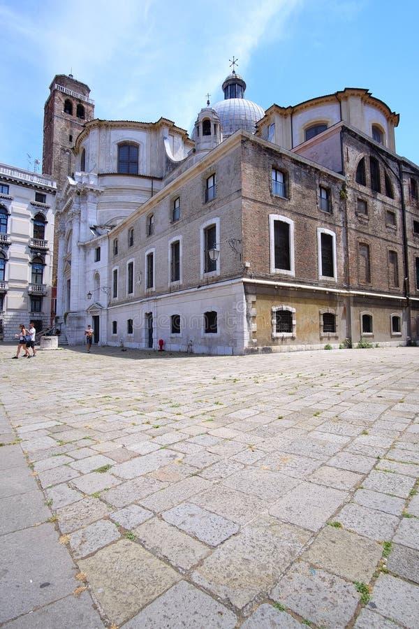 zamieszkany dom w Wenecja obrazy stock