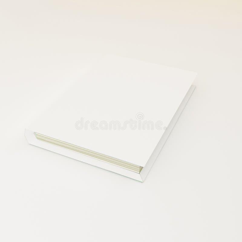 zamknięta książka, katalog papierowy wzór royalty ilustracja