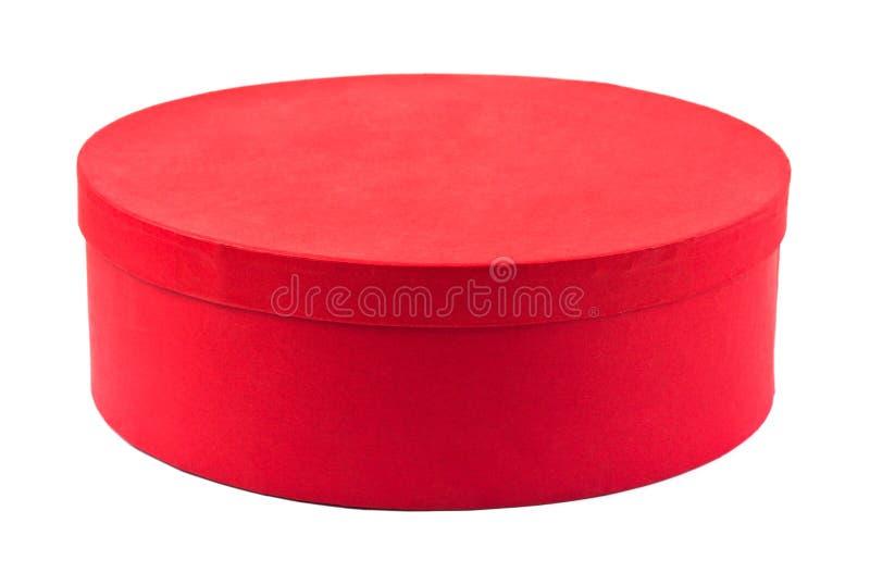 zamknięta pudełko czerwień zdjęcie stock