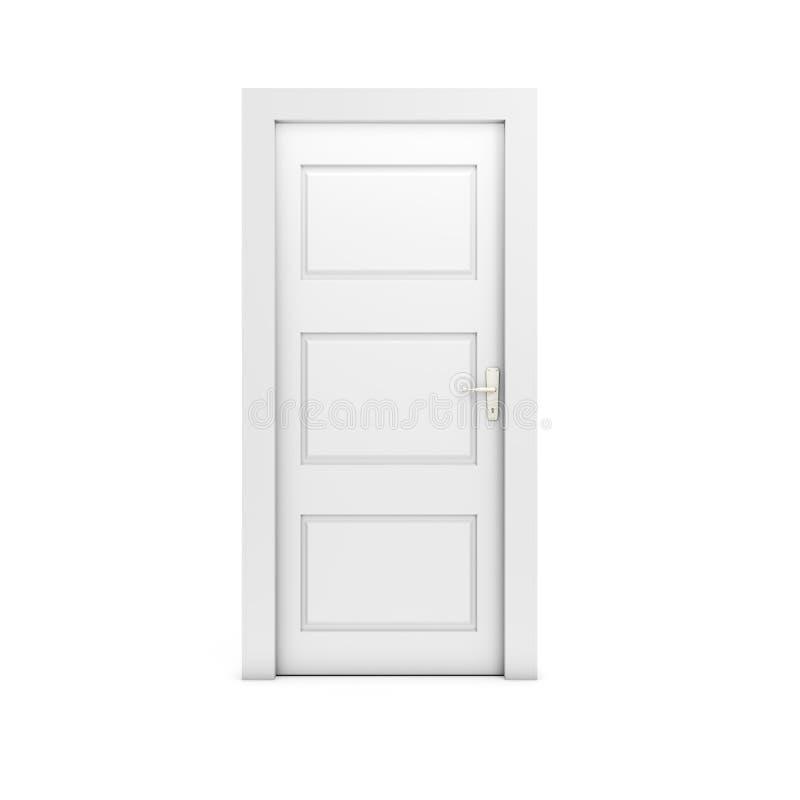 zamknięte drzwi obraz stock