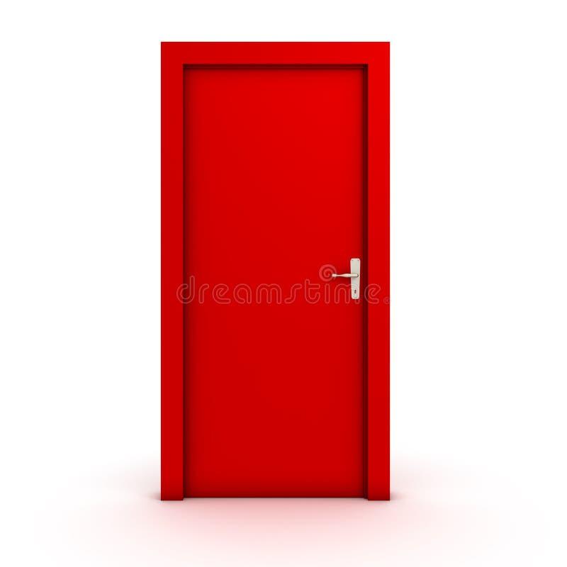 zamknięte drzwi royalty ilustracja