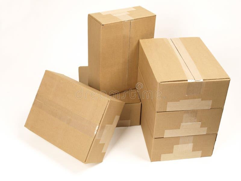 zamknięte pudełko ćwierć żeglugi widok zdjęcia stock