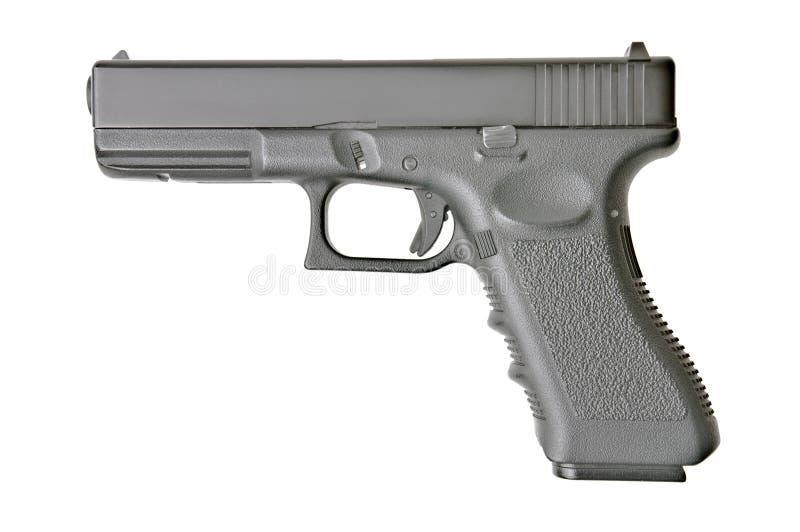 Zamknięty boczny widok pistolecik zdjęcia royalty free