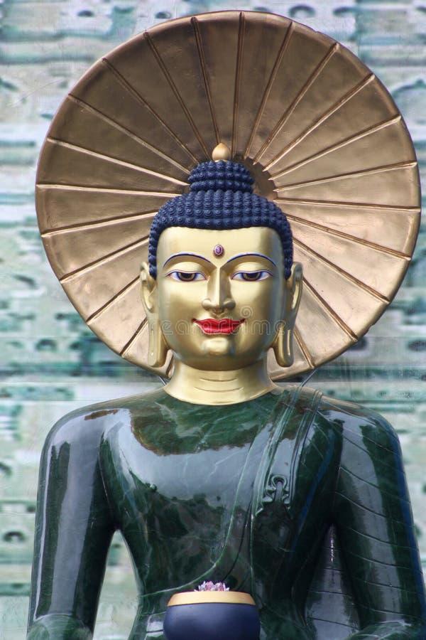 zamknięty Buddha chabet fotografia stock