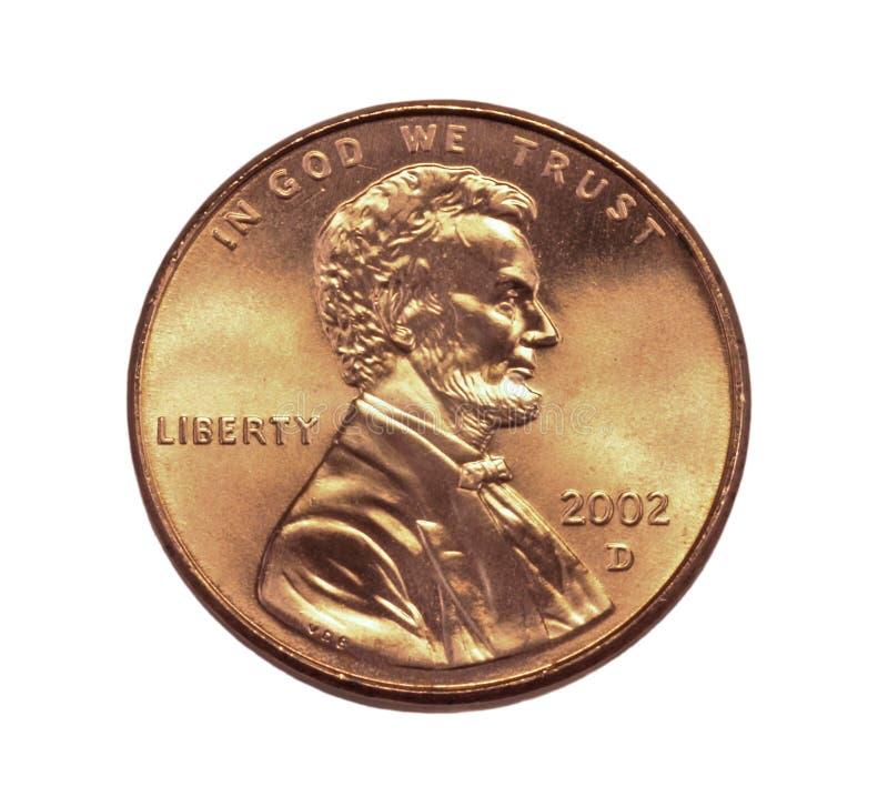 zamknięty cent obraz royalty free