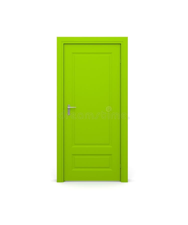 zamknięty drzwi ilustracja wektor