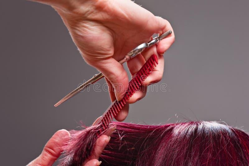 zamknięty fryzjer zdjęcia royalty free