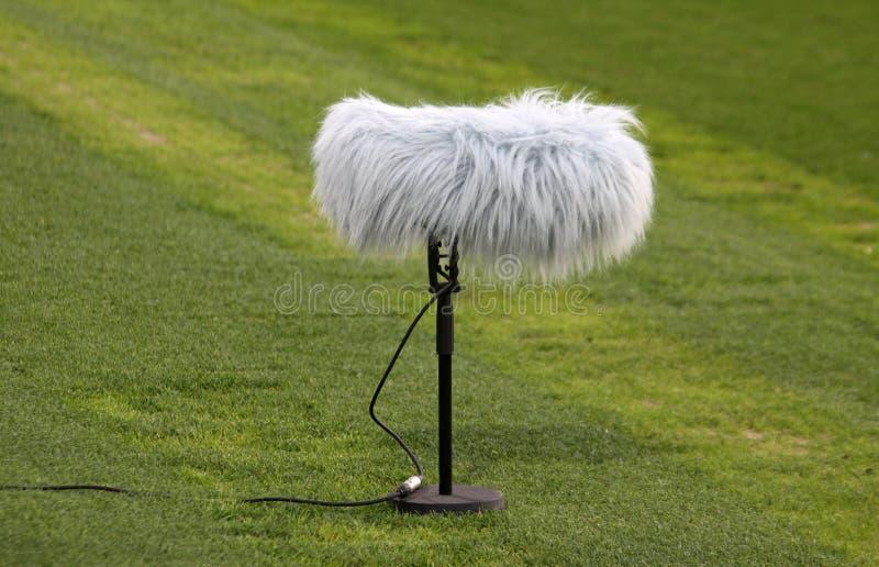 zamknięty huku mikrofon obraz royalty free