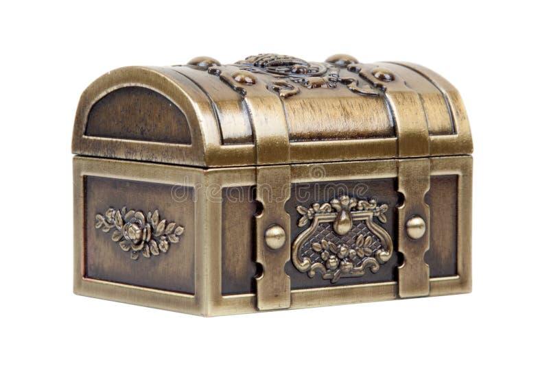 zamknięty klatki piersiowej złoto zdjęcie royalty free