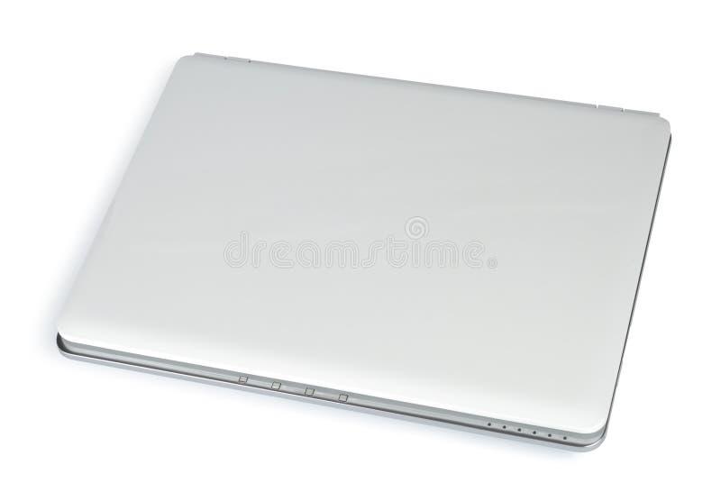 zamknięty laptopu biel obraz royalty free