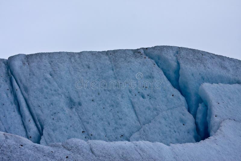 zamknięty lodowiec zdjęcie stock