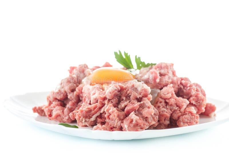 zamknięty mięso przygotowywa target1227_0_ zamknięty zdjęcie stock