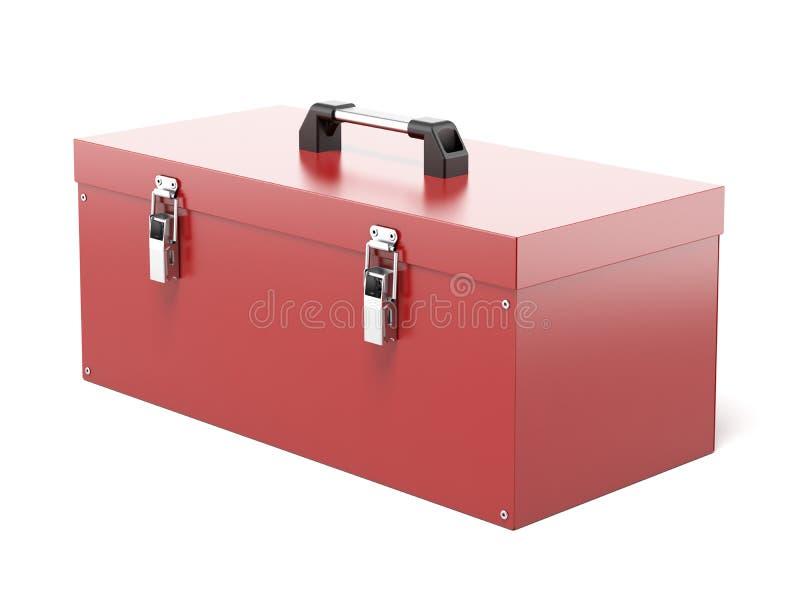 Zamknięty narzędzia pudełko ilustracja wektor
