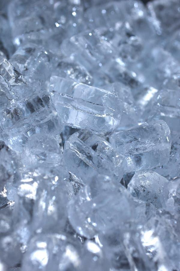 zamknięty sześcianów ekstremum lód zamknięty obraz stock