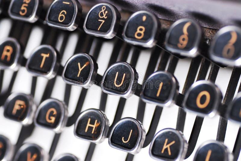 zamknięty typewirter zdjęcia stock