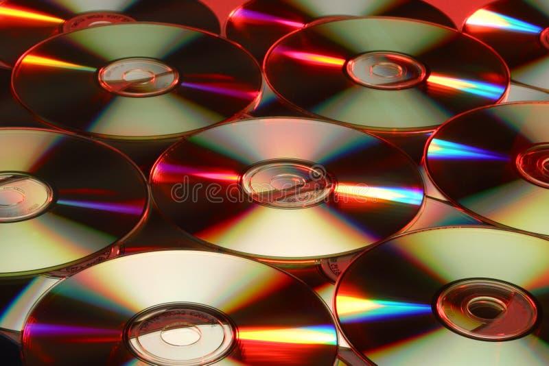 zamkniętych płyta kompaktowa płaska płaski rozprzestrzeniająca powierzchnia rozprzestrzeniać zdjęcia royalty free