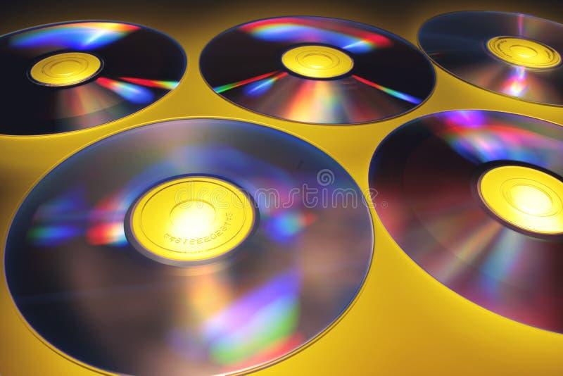 zamkniętych płyta kompaktowa płaska płaski rozprzestrzeniająca powierzchnia rozprzestrzeniać obrazy royalty free