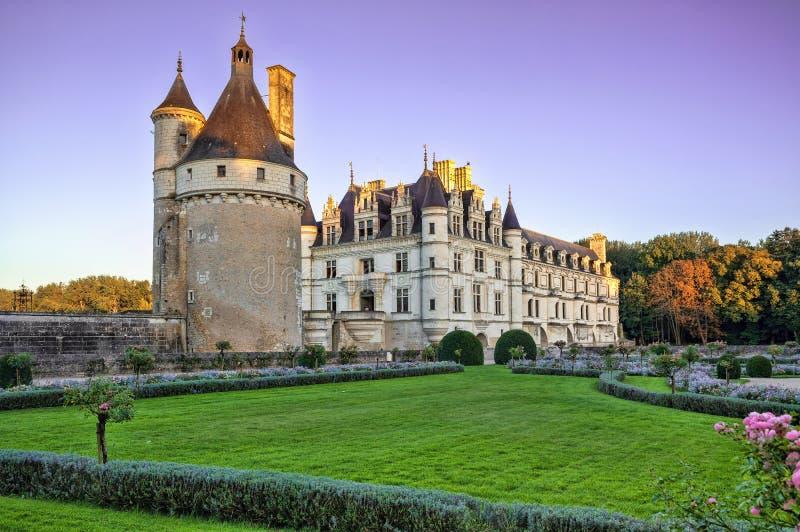 Download Zamku De France Chenonceau Loire Valley Francja Obraz Stock - Obraz złożonej z antyczny, europejczycy: 53785001
