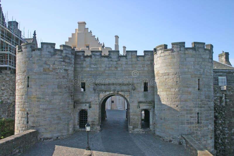 zamku Stirling Scotland zdjęcie royalty free