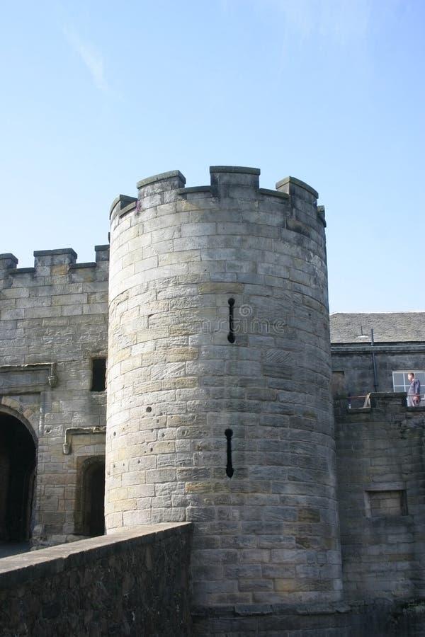 zamku Stirling Scotland zdjęcia royalty free