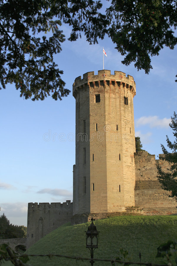 zamku warwick zdjęcie stock