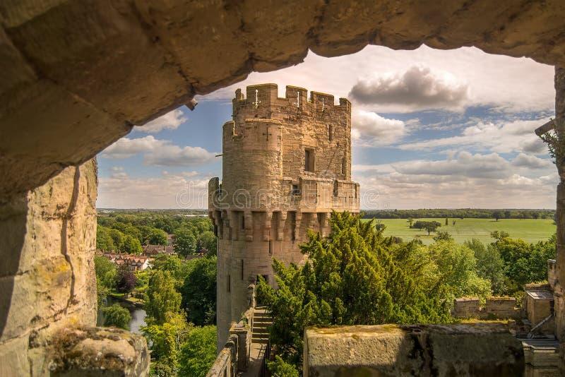 zamku warwick zdjęcia stock