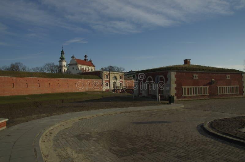 Zamość Fortress stock photo