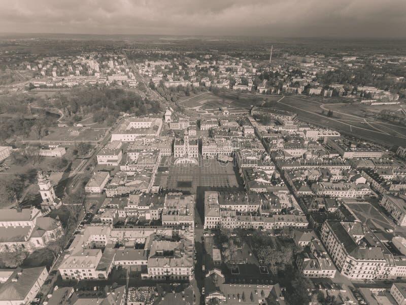 ZamoÅ› Ä ‡,波兰耶路撒冷旧城  免版税库存照片
