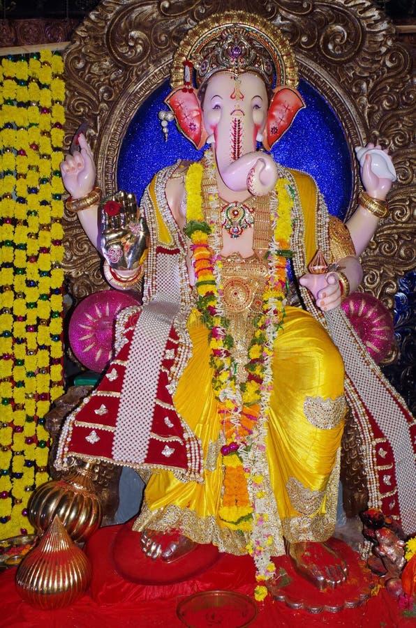 Zamożna Indiańska władyka Ganesh zdjęcie stock