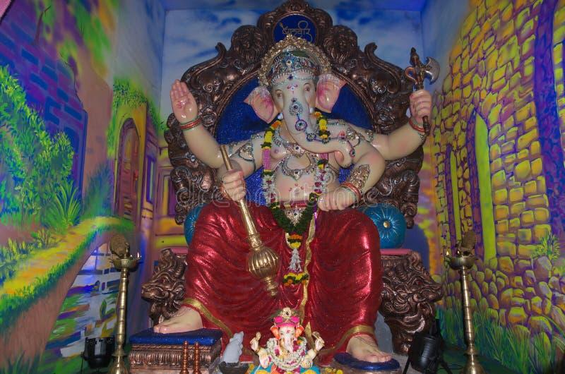 Zamożna Indiańska władyka Ganesh-I obraz stock