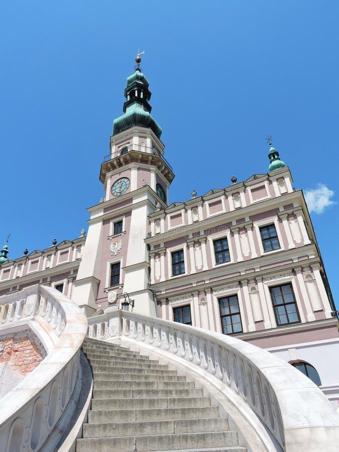Zamojska grodzka architektura obrazy royalty free
