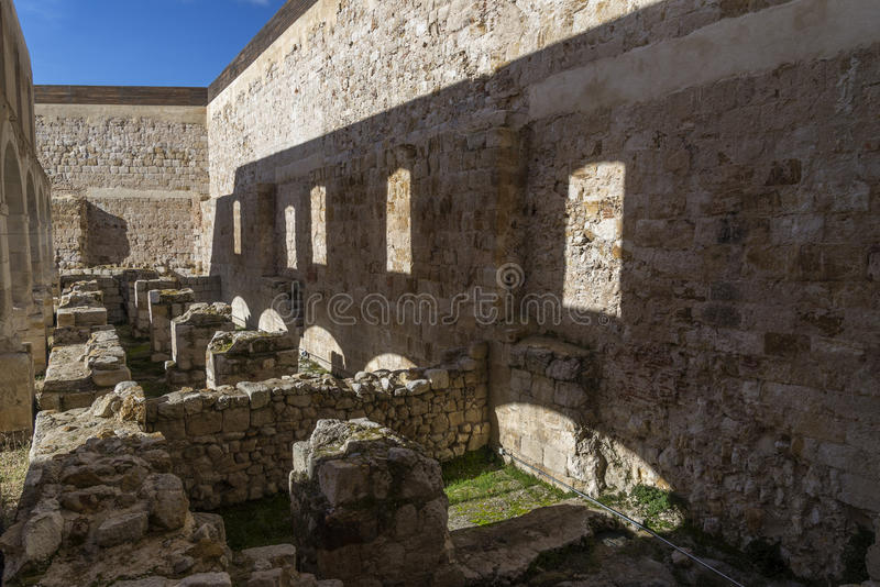 Zamora κάστρο στοκ φωτογραφία με δικαίωμα ελεύθερης χρήσης