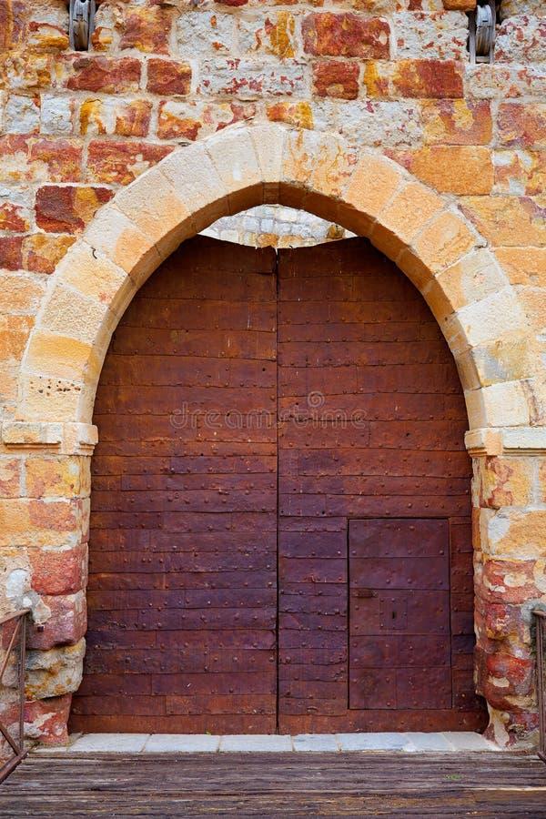 Zamora το κάστρο EL Castillo στην Ισπανία στοκ φωτογραφία με δικαίωμα ελεύθερης χρήσης