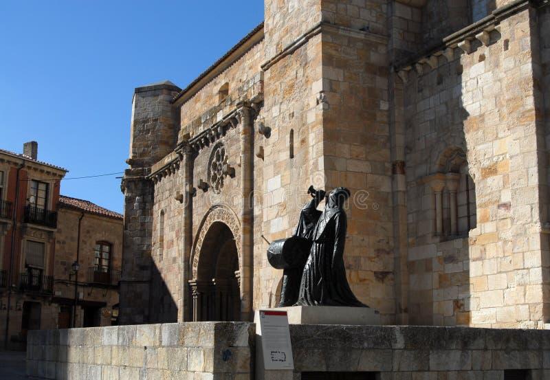 Zamora en Castille y Léon l'espagne photos stock