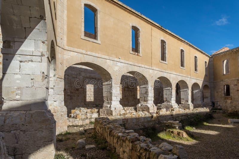 Zamora-Schloss stockbild
