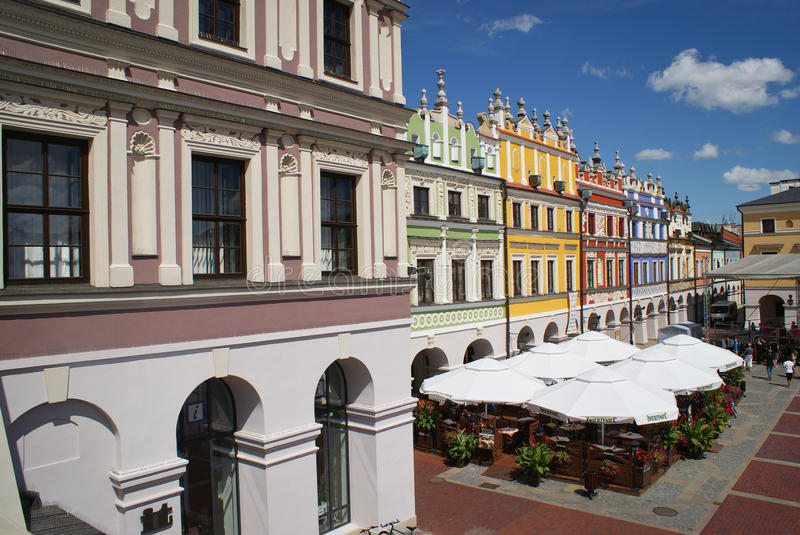 Zamosc Unesco city Poland stock image
