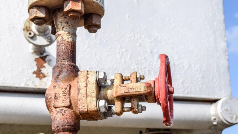 Zamykać klapy na naciska well bieżącym wyposażeniu olej obrazy royalty free