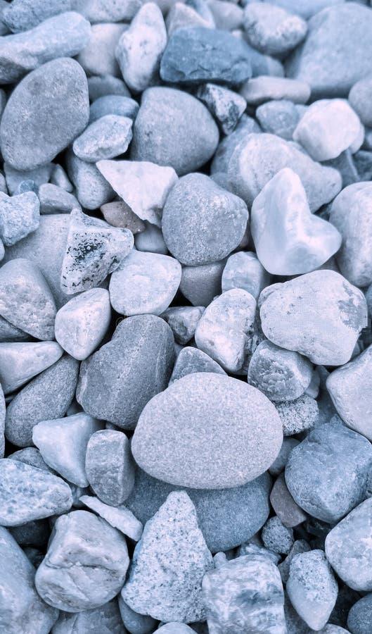 Zamyka strzał malutcy kamienie z blueish skutkiem w Jammu, Jammu i Kaszmir, India zdjęcia royalty free