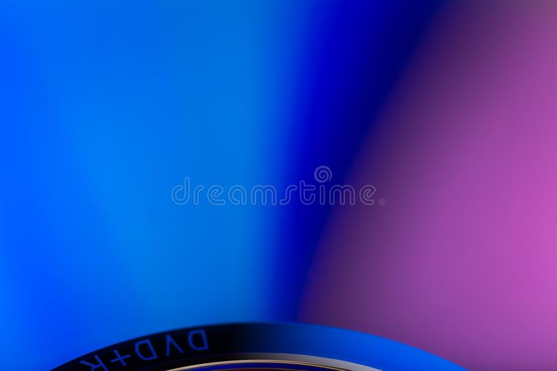 Zamyka up cd odbicie zdjęcia stock