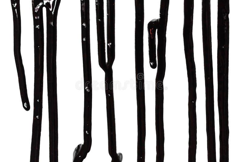 Zamyka up czarna farba zdjęcie royalty free