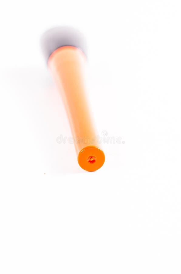Download Zamyka up eyeliner butelka zdjęcie stock. Obraz złożonej z piękno - 53786822