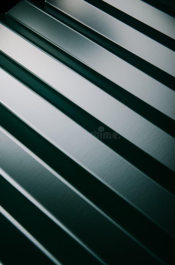 Zamyka up metal dachowa płytka zdjęcie stock