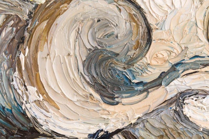 Zamyka up obraz olejny obrazy stock