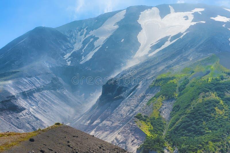 Zamyka up północny zachód strona Mt St Helens obrazy royalty free