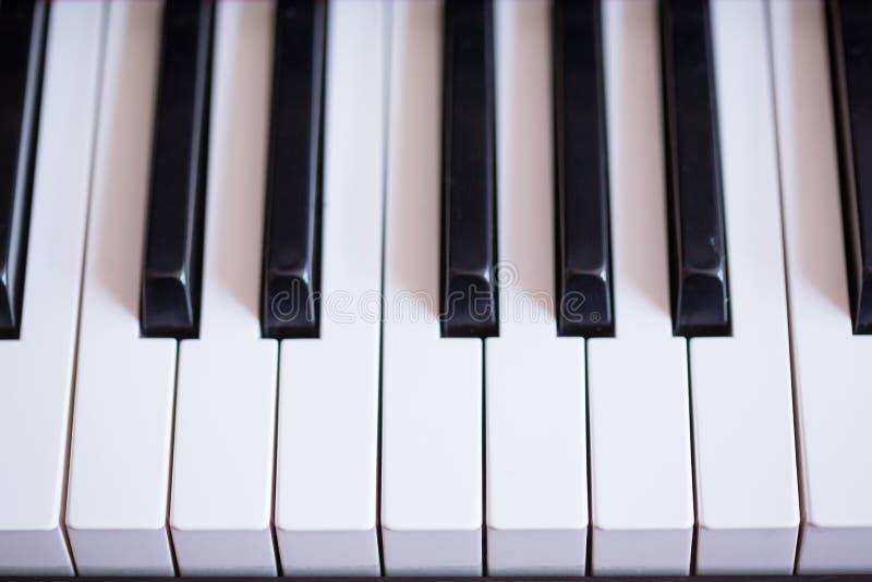 Zamyka up pianino zdjęcia stock