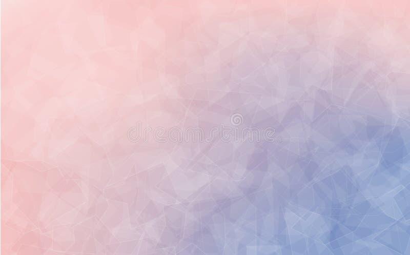 Zamyka up powierzchnia różana kwarc ilustracja wektor