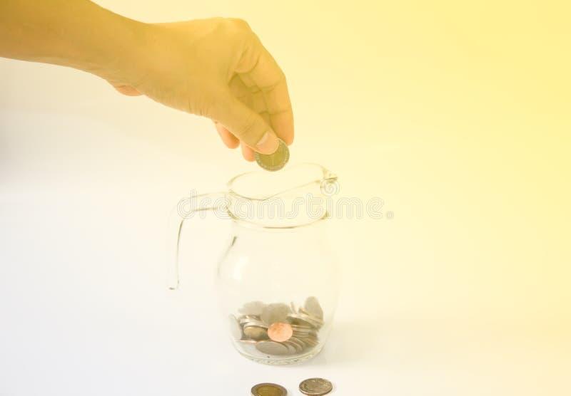 Zamyka up save pieniądze obrazy royalty free